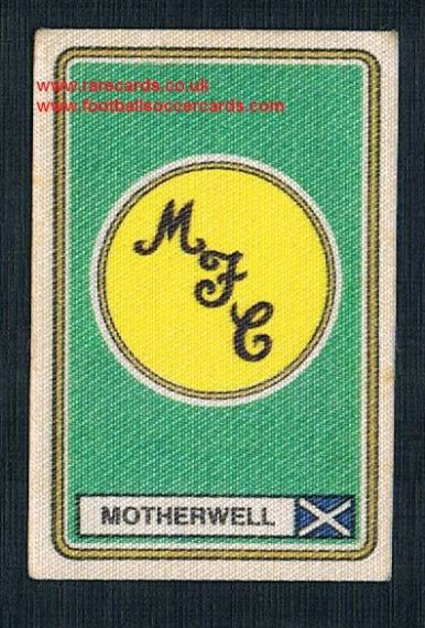 1979 Panini Football 79 silk sticker with backing paper, almost as good as new 527 Motherwell
